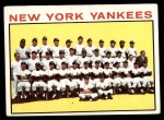 1964 Topps #433   Yankees Team Front Thumbnail