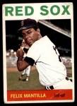 1964 Topps #228  Felix Mantilla  Front Thumbnail