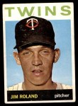 1964 Topps #341  Jim Roland  Front Thumbnail