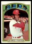 1972 Topps #256  George Foster  Front Thumbnail