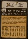 1973 Topps #292  Jose Cruz  Back Thumbnail