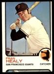 1973 Topps #361  Fran Healy  Front Thumbnail