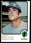 1973 Topps #516  Danny Walton  Front Thumbnail