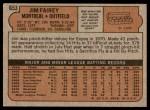 1972 Topps #653  Jim Fairey  Back Thumbnail