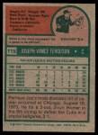 1975 Topps Mini #115  Joe Ferguson  Back Thumbnail