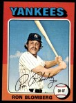 1975 Topps #68  Ron Blomberg  Front Thumbnail