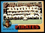 1975 Topps #304   -  Danny Murtaugh Pirates Team Checklist Front Thumbnail