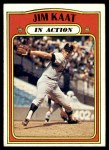 1972 Topps #710   -  Jim Kaat In Action Front Thumbnail