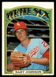 1972 Topps #126  Bart Johnson  Front Thumbnail