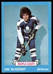 1973 Topps #39  Jim McKenny   Front Thumbnail