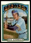 1972 Topps #153  Rick Auerbach  Front Thumbnail