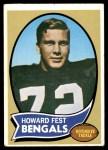 1970 Topps #211  Howard Fest  Front Thumbnail