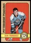 1972 Topps #143  Jean Pronovost  Front Thumbnail