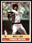 1976 Topps #396  Bill Lee  Front Thumbnail