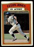 1972 Topps #32   -  Cleon Jones In Action Front Thumbnail