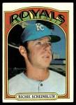 1972 Topps #468  Richie Scheinblum  Front Thumbnail