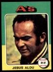 1975 Topps #253  Jesus Alou  Front Thumbnail