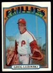 1972 Topps #112  Greg Luzinski  Front Thumbnail