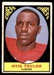 1967 Topps #73  Otis Taylor  Front Thumbnail