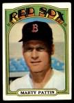 1972 Topps #144  Marty Pattin  Front Thumbnail