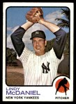 1973 Topps #46  Lindy McDaniel  Front Thumbnail