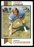 1973 Topps #284  Terry Owens  Front Thumbnail