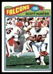 1977 Topps #157  Scott Hunter  Front Thumbnail