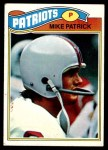 1977 Topps #313  Mike Patrick  Front Thumbnail