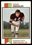 1973 Topps #254  Doug Dressler  Front Thumbnail