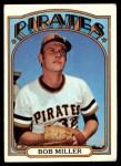 1972 Topps #414  Bob Miller  Front Thumbnail