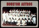 1970 Topps #448   Astros Team Front Thumbnail