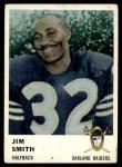 1961 Fleer #192  Jim Smith  Front Thumbnail