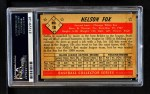 1953 Bowman #18  Nellie Fox  Back Thumbnail