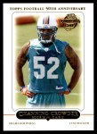 2005 Topps #5 T Channing Crowder  Front Thumbnail
