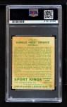 1933 Goudey Sport Kings #4  Red Grange   Back Thumbnail