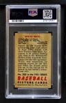 1951 Bowman #305  Willie Mays  Back Thumbnail