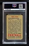 1951 Bowman #142  Eddie Saenz  Back Thumbnail