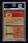 1953 Topps #82  Mickey Mantle  Back Thumbnail