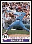 1979 Topps #25  Steve Carlton  Front Thumbnail