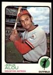 1973 Topps #93  Jesus Alou  Front Thumbnail