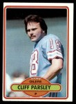 1980 Topps #343  Cliff Parsley  Front Thumbnail