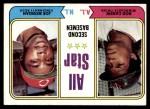1974 Topps #333   -  Rod Carew / Joe Morgan All-Star Second Baseman   Front Thumbnail