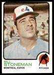1973 Topps #254  Bill Stoneman  Front Thumbnail