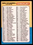 1975 Topps #517   Checklist 4 Front Thumbnail