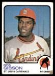 1973 Topps #190  Bob Gibson  Front Thumbnail