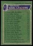1976 Topps #1   -  Leach / La Fleur / Larouche Goals Leaders Back Thumbnail