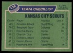 1976 Topps #138   Scouts Team Back Thumbnail