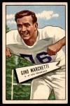 1952 Bowman Large #23  Gino Marchetti  Front Thumbnail
