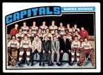 1976 Topps #149   Capitals Team Front Thumbnail