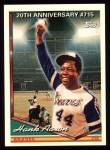 1994 Topps #715  Hank Aaron  Front Thumbnail